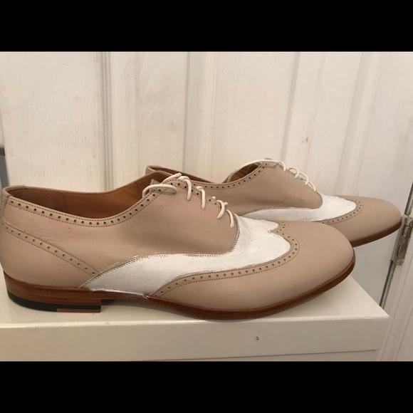Mason Margiela Hand Painted Derby Shoes